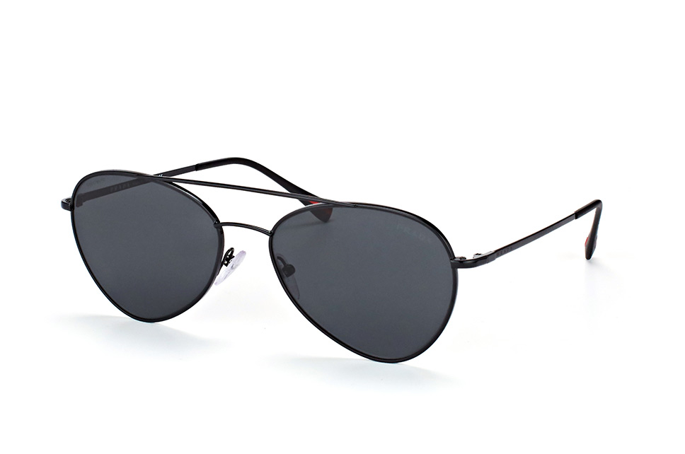Linea Rossa PS 50Ss 7Ax-5S0, Aviator Sonnenbrillen, Schwarz