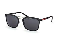 Prada Linea Rossa PS 03Ss Dg0-5S0, Aviator Sonnenbrillen, Schwarz