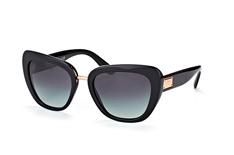 Dolce&Gabbana DG 4296 501/8G, Butterfly Sonnenbrillen, Schwarz