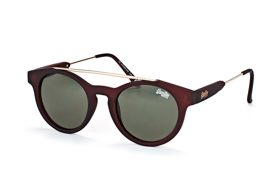 superdry -  sds Highbrown 103, Aviator Sonnenbrillen, Goldfarben