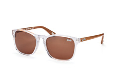 Superdry go 113, Square Sonnenbrillen, Transparent