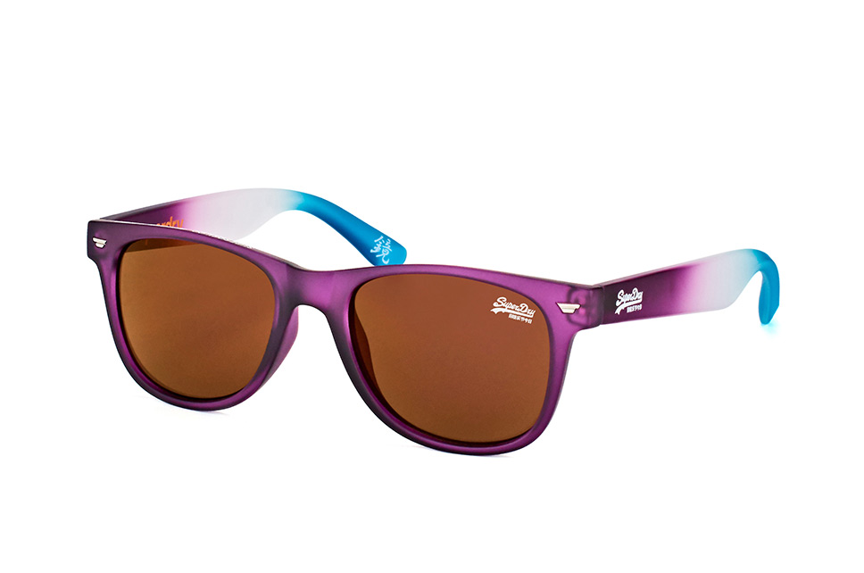 sds Superfarer 161, Square Sonnenbrillen, Violett
