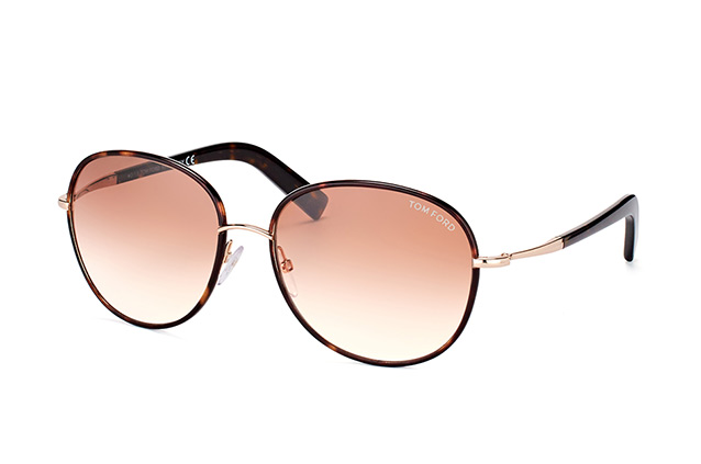 Tom Ford Georgia FT 0498/S 52F Perspektivenansicht