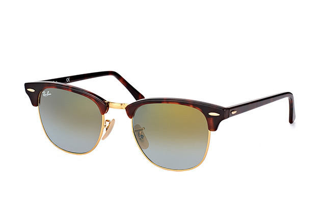Ray-Ban Clubmaster RB 3016 990/9Jlarge vue en perpective