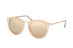 Le Specs No Smirking LSP 1602002, Round Sonnenbrillen, Beige