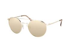 Le Specs LSP Instinct 1602149, Aviator Sonnenbrillen, Goldfarben
