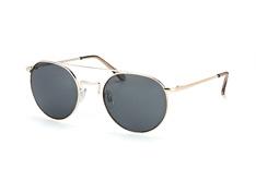 Le Specs LSP Instinct 1402012, Aviator Sonnenbrillen, Goldfarben