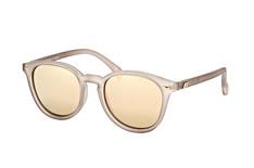 Le Specs Bandwagon LSP 1602010, Round Sonnenbrillen, Braun