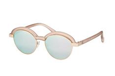 Le Specs LSP Slid Lids 1602168, Browline Sonnenbrillen, Beige