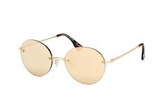 Le Specs LSP Bodoozle 1602180, Round Sonnenbrillen, Goldfarben