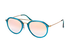 Ray-Ban RB 4253 6236/7Ylarge, Aviator Sonnenbrillen, Blau