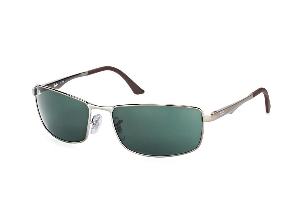 RB 3498 004/71small, Rectangle Sonnenbrillen, Silber