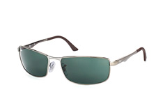 Ray-Ban RB 3498 004/71small, Rectangle Sonnenbrillen, Silber