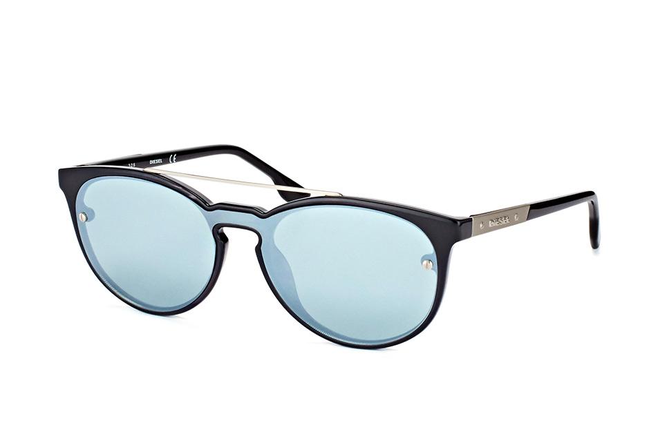 Diesel Sonnenbrille » DL0262«, braun, 52V - braun/blau