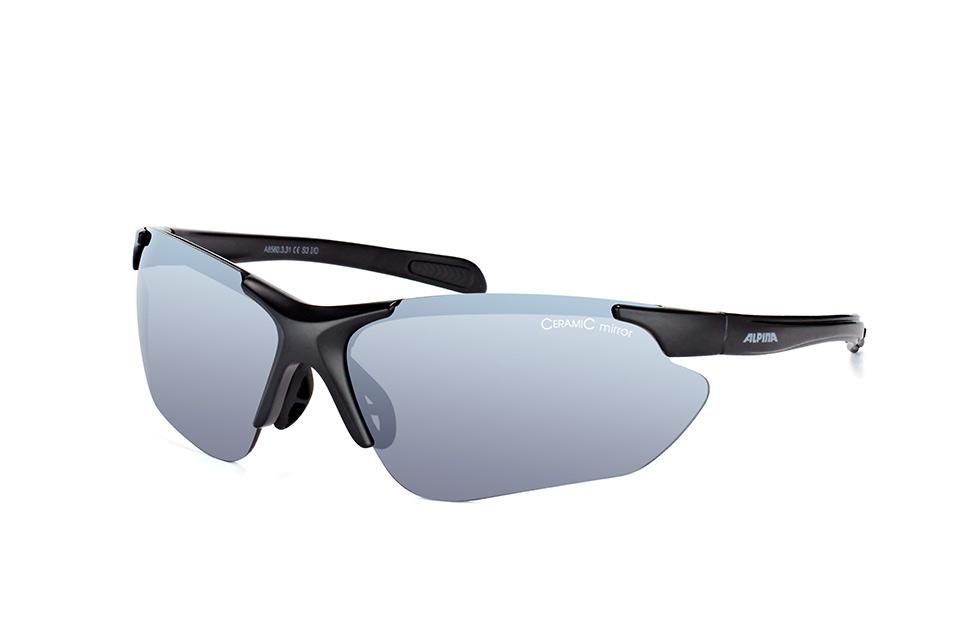 Jalix A8560 3.31, Sporty Sonnenbrillen, Schwarz