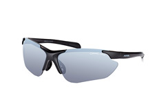 Alpina Jalix A8560 3.31, Sporty Sonnenbrillen, Schwarz