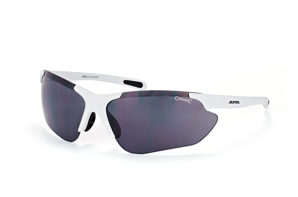Jalix A8560 4.10, Sporty Sonnenbrillen, Weiss