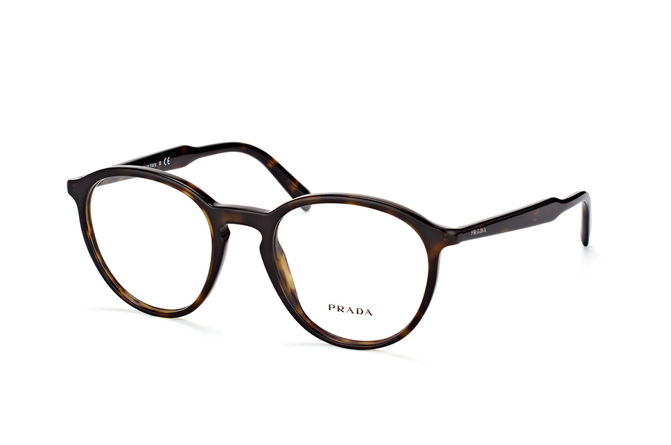 PRADA Prada Damen Brille » PR 13UV«, braun, 2AU1O1 - braun