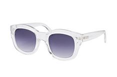Le Specs Runaways 1602007, Square Sonnenbrillen, Transparent