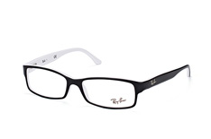 ray-ban-rx-5114-2097-large-rectangle-brillen-schwarz