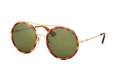 Gucci GG 0061S 002, Round Sonnenbrillen, Goldfarben