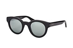 Gucci GG 0002S 001, Round Sonnenbrillen, Schwarz