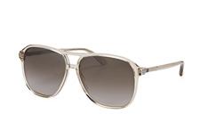 Gucci GG 0016S 004, Aviator Sonnenbrillen, Transparent