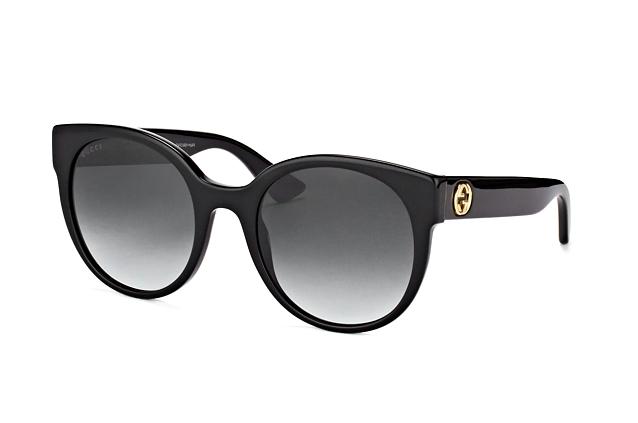 b9e8b9b455 ... Gucci Sunglasses  Gucci GG 0035S 001. null perspective view ...