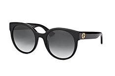 Gucci GG 0035S 001, Butterfly Sonnenbrillen, Schwarz