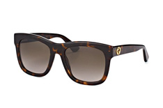 Gucci GG 0032S 002, Square Sonnenbrillen, Braun