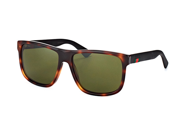 b880d069af ... Gucci Sunglasses  Gucci GG 0010S 006. null perspective view ...