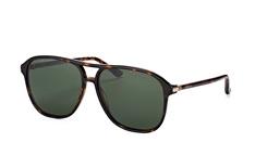 Gucci GG 0016S 007, Aviator Sonnenbrillen, Havana