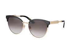 Gucci GG 0074S 002, Butterfly Sonnenbrillen, Goldfarben