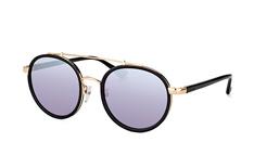 Calvin Klein CK 1225S 001, Aviator Sonnenbrillen, Goldfarben