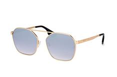 McQ MQ 0076S 004, Aviator Sonnenbrillen, Goldfarben