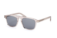 Saint Laurent SL 158 006, Aviator Sonnenbrillen, Transparent