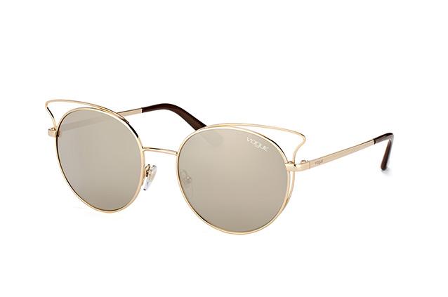 VOGUE Vogue Damen Sonnenbrille »Casual Chic VO4048S«, goldfarben, 848/5A - gold/gold