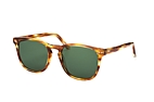 CO Optical Aaron 2048 001 Havana / Marron clair / Vert vue en perpective Thumbnail