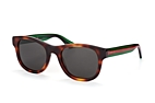 Gucci GG 0003S 002 Havana / Green / Grey perspective view thumbnail