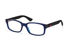 Gucci GG 0012O 004, Square Brillen, Blau