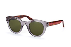 Gucci GG 0002S 006, Round Sonnenbrillen, Grau
