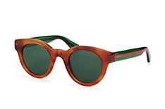 Gucci GG 0002S 003, Round Sonnenbrillen, Braun