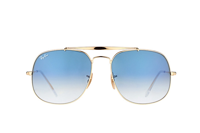 Ray Ban RB3561 001/3F The General Sonnenbrille uL95JMLGL