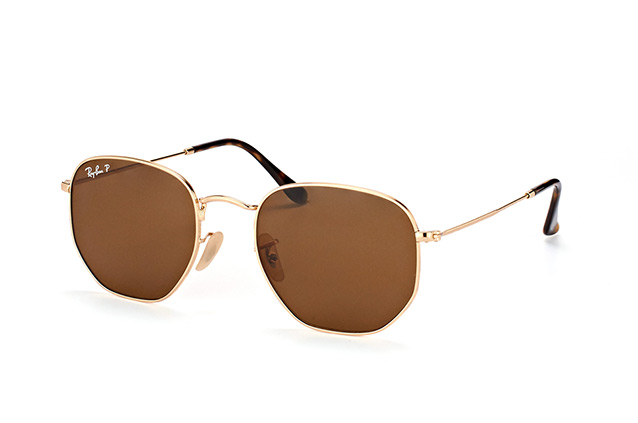 Ray-Ban Hexagonal RB 3548N 001/57 L Perspektivenansicht