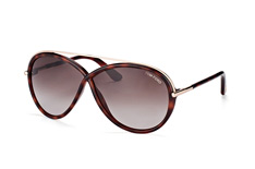 Tom Ford Tamara FT 0454/s 52K, Butterfly Sonnenbrillen, Goldfarben