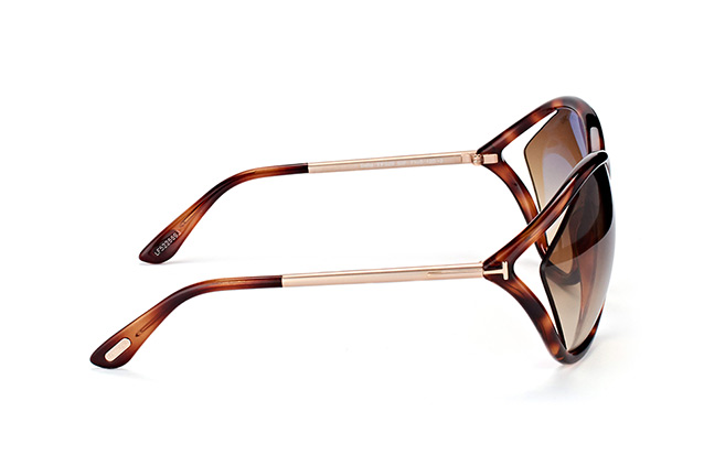 Tom Ford Bella FT 529/S 53F perspective view
