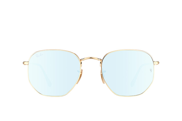 Ray-Ban Hexagonal RB 3548N 001/30 L Perspektivenansicht