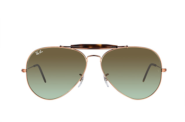 Ray-Ban Outdoorsman II RB 3029 9002/A6 klein