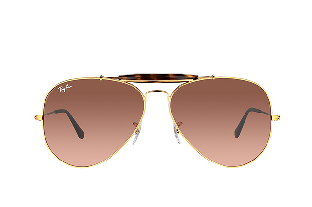 Ray-Ban Outdoorsman II RB 3029 9001/A5 Perspektivenansicht