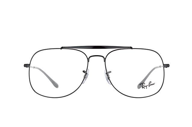 RAY BAN RAY-BAN Herren Brille »The General RX6389«, schwarz, 2509 - schwarz